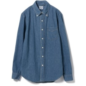 orSlow / デニム ボタンダウン シャツ メンズ カジュアルシャツ USED 2(M)