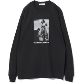F-LAGSTUF-F / Hit Long Sleeve Tee メンズ Tシャツ BLACK S