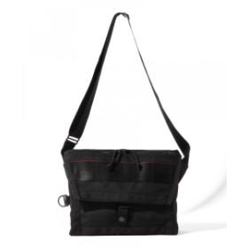 BRIEFING × BEAMS PLUS / 別注 Fleet Messenger Bag メンズ ショルダーバッグ BLACK ONE SIZE
