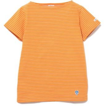 ビームス ウィメン ORCIVAL × Ray BEAMS / 別注 ボーダー Tシャツ レディース ORANGE - 【BEAMS WOMEN】