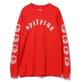 SPITFIRE / オールドイングリッシュ ロゴ プリント Tシャツ メンズ Tシャツ RED M