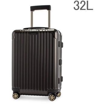 リモワ Rimowa サルサデラックス 830.53.33.4 スーツケース 32L マルチホイール グラナイトブラウン
