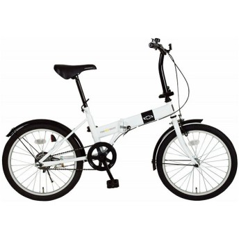 シボレー MG-CV20R ホワイト [折りたたみ自転車(20インチ)] 折りたたみ自転車・ミニベロ