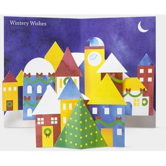 MoMA クリスマスカード ウィンタービレッジ