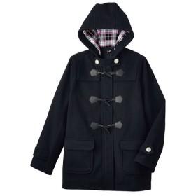 50%OFF【ティーンズ】 LIZ LISA doll フード裏まで可愛いダッフルコート(スクール・制服) ■カラー:ブラック ■サイズ:M,L,LL