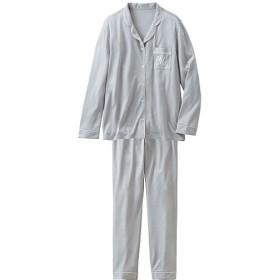 70%OFF【レディース】 シャツパジャマセット - セシール ■カラー:グレー ■サイズ:M