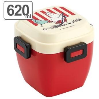 お弁当箱 4点ロック サラダランチボックス ムーミン ストライプ 620ml ( 弁当箱 ランチボックス どんぶり )