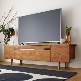 a tempo/アテンポ オーク天然木 テレビボード・テレビ台 幅180cm H60532