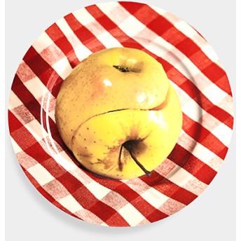 Maurizio Cattelan:プレート Apple