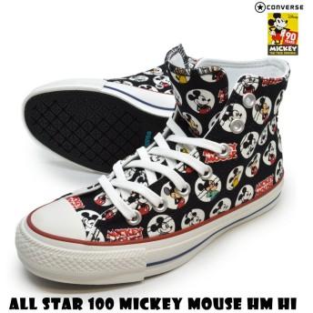 converse コンバース 1CL232 ALL STAR 100 MICKEY MOUSE HM HI オールスター 100 ミッキーマウス HM HI ユニセックス メンズ レディース