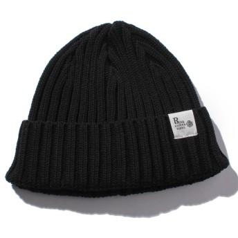 【40%OFF】 ナノ・ユニバース RACAL:別注Standard Knit CAP メンズ ブラック F 【nano・universe】 【セール開催中】