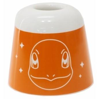 ポケットモンスター 洗面用具 陶器製ハブラシスタンド ヒトカゲ ポケモン ギフト雑貨 キャラクター グッズ