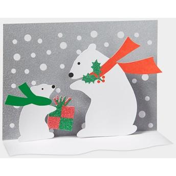 MoMA クリスマスカード シロクマ