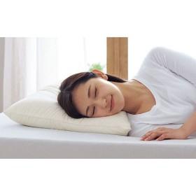睡眠メイク枕 - セシール ■カラー:ホワイト ■サイズ:普通(横63×縦43×高さ10cm)