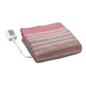 広電(KODEN) 洗える 電気しき毛布 (80×140cm) VWS551-P