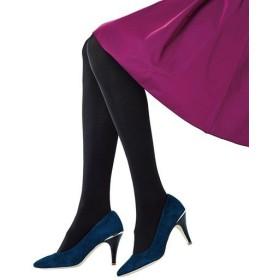 【レディース】 透けにくく暖かい黒タイツ3足セット(120デニール) - セシール ■カラー:ブラック ■サイズ:M-L,JM-L,L-LL