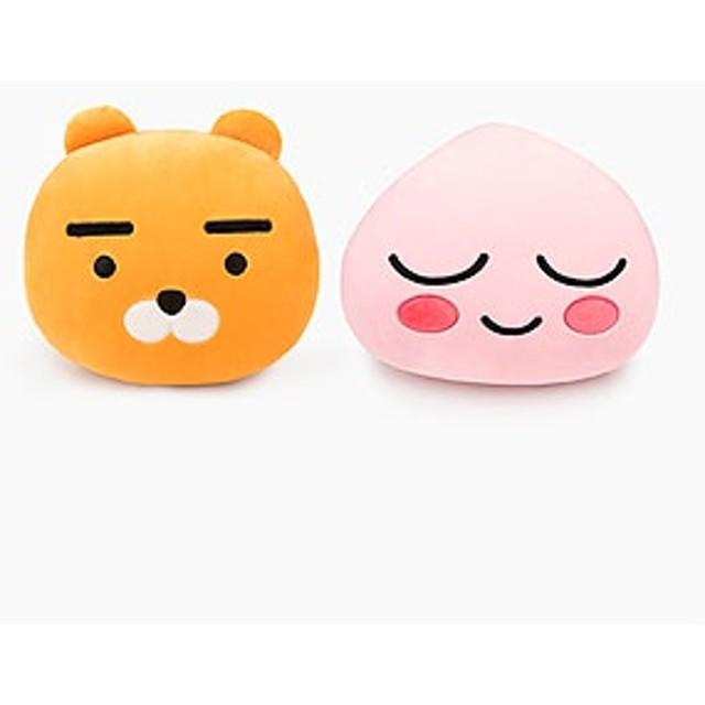 キャラクターグッズ KAKAO FRIENDS(カカオフレンズ) ハンド ウォーマー クッション(2種1択) KAKAO96