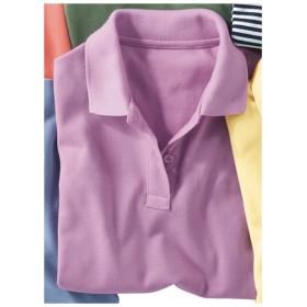 【レディース】 UVカットポロシャツ(半袖)(S-5L) ■カラー:スィートパープル ■サイズ:3L,S,M,LL,L,4L-5L