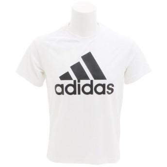 アディダス(adidas) D2M トレーニングビッグロゴTシャツ BVA79 R BK0936 (Men's)
