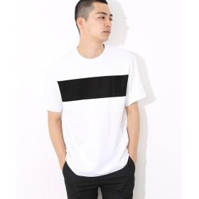 アダムエロペ ポンチラインプリントTシャツ メンズ ブラック(01) M 【ADAM ET ROPE'】