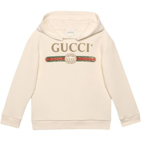 Gucci Kids プリント パーカー - ホワイト