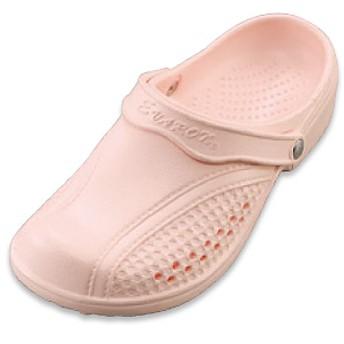 エバロン クローズトップソフトサンダル ■カラー:ピンク ■サイズ:S(22-22.5cm),M(23-23.5cm),L(24-24.5cm),LL(25-25.5cm)