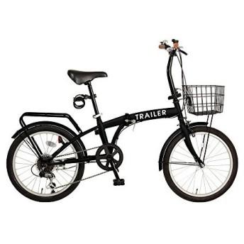 TRAILER BGC-F20-BK ブラック [折りたたみ自転車(20インチ・6段変速)] 折りたたみ自転車・ミニベロ