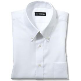 【メンズ】 出張や洗い替えにも便利!形態安定Yシャツ(長袖)(S-5L) ■カラー:ホワイトB(ボタンダウン衿) ■サイズ:M,4L,5L,3L,LL,S,L