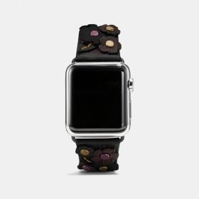 COACH コーチ Apple Watch(R) ストラップ ウィズ ティー ローズ