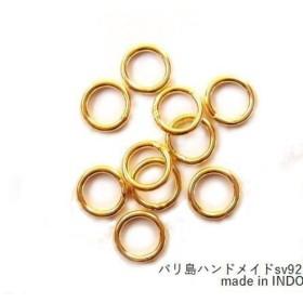 【5ヶ】【v-781r/ヴェルメイユ】バリパーツ 丸カン(クローズ/直径7mm)/5ヶ