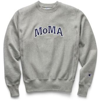 Champion クルーネックスウェットシャツ MoMA Edition M グレー