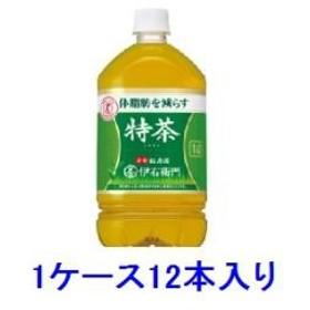 サントリー サントリー緑茶 伊右衛門 特茶 1L(1ケース12本入) 【返品種別B】