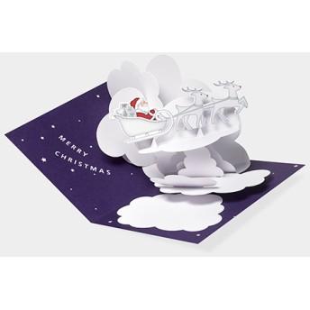 MoMA クリスマスカード サンタのソリ