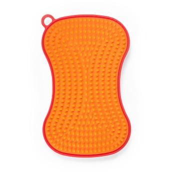 シリコン スクラバー レッド/オレンジ