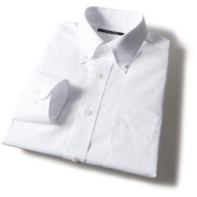 60%OFF【メンズ】 形態安定衿型バリエーションYシャツ(すっきりシルエット) ■カラー:ホワイトB(ボタンダウン衿) ■サイズ:50(裄丈88)