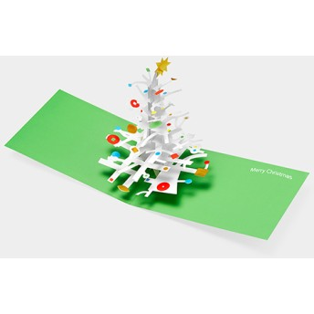 MoMA クリスマスカード オー タンネンバウム