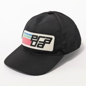 PRADA プラダ 1HC274 2CDG F047K ナイロン ベースボールキャップ 帽子 ニューロゴ NERO/AZZURRO ユニセックス