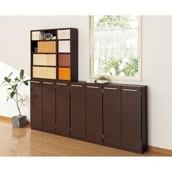 1cm単位で棚板の高さを変える積み重ねキャビネット - セシール ■カラー:ホワイト ダークブラウン ■サイズ:D(扉タイプ/幅60),A(オープンタイプ/幅60),B(オープンタイプ/幅90)