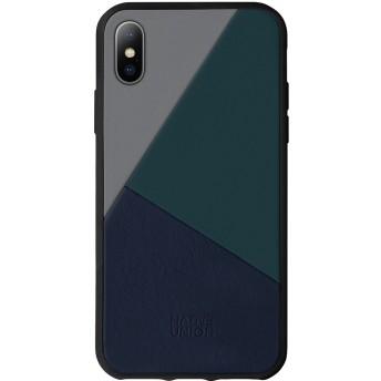 Native Union iPhone X/XS ケース トリコレザー ブルー
