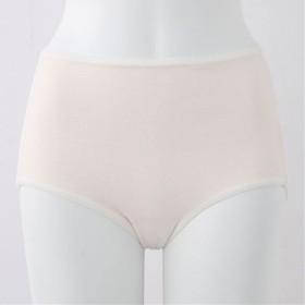 【レディース】 綿100%縫い目が当たりにくいショーツ(はきこみ丈スタンダード) ■カラー:シルクベージュ ■サイズ:3L,M,L,LL