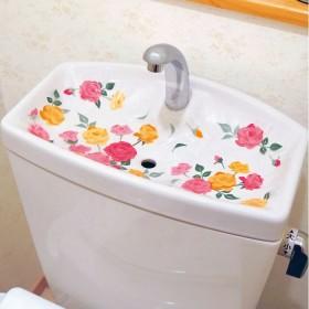 ベルーナインテリア トイレが華やぐ汚れ隠しタンクシート 30枚セット 1 1
