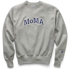 Champion クルーネックスウェットシャツ MoMA Edition L グレー