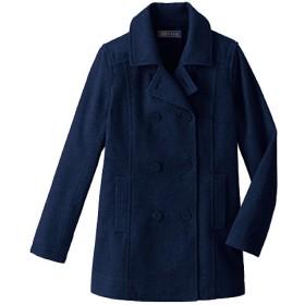 【ティーンズ】 静電気防止機能付き 定番ピーコート(スクール・制服) ■カラー:ネイビー ■サイズ:L,S,M,LL