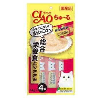 いなばペットフード CIAO ちゅ~る 総合栄養食 とりささみ 14g×4本 チャオちゅーる【返品種別B】