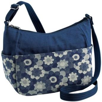 岡山デニム マーガレットショルダーバッグ ■カラー:ブルー系