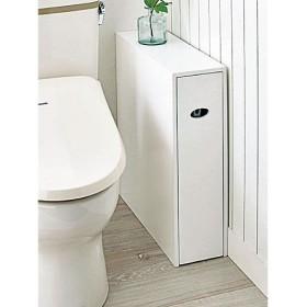 スリムトイレ収納 - セシール ■カラー:ホワイト ■サイズ:A