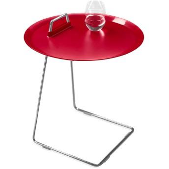 ポーター トレイ テーブル レッド