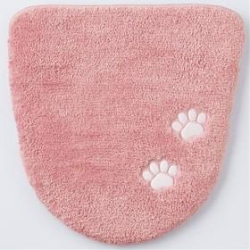 トイレフタカバー(肉球) - セシール ■カラー:ピンク ■サイズ:フタカバー/特殊型
