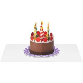 MoMA ポップアップカード ポップアップケーキ(1枚)