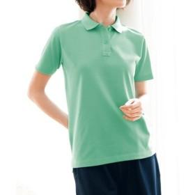 【レディース】 UVカットポロシャツ(半袖)(S-5L) ■カラー:ミントグリーン ■サイズ:LL,3L,S,4L-5L